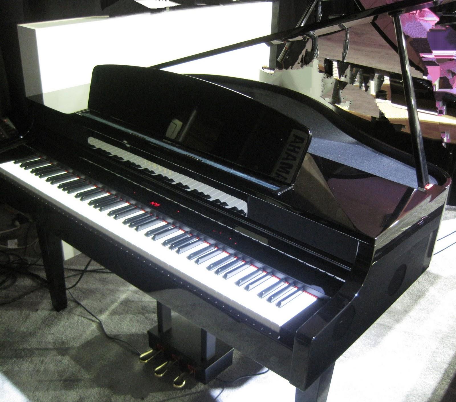 Yamaha digital baby grand piano car interior design for Yamaha black baby grand piano