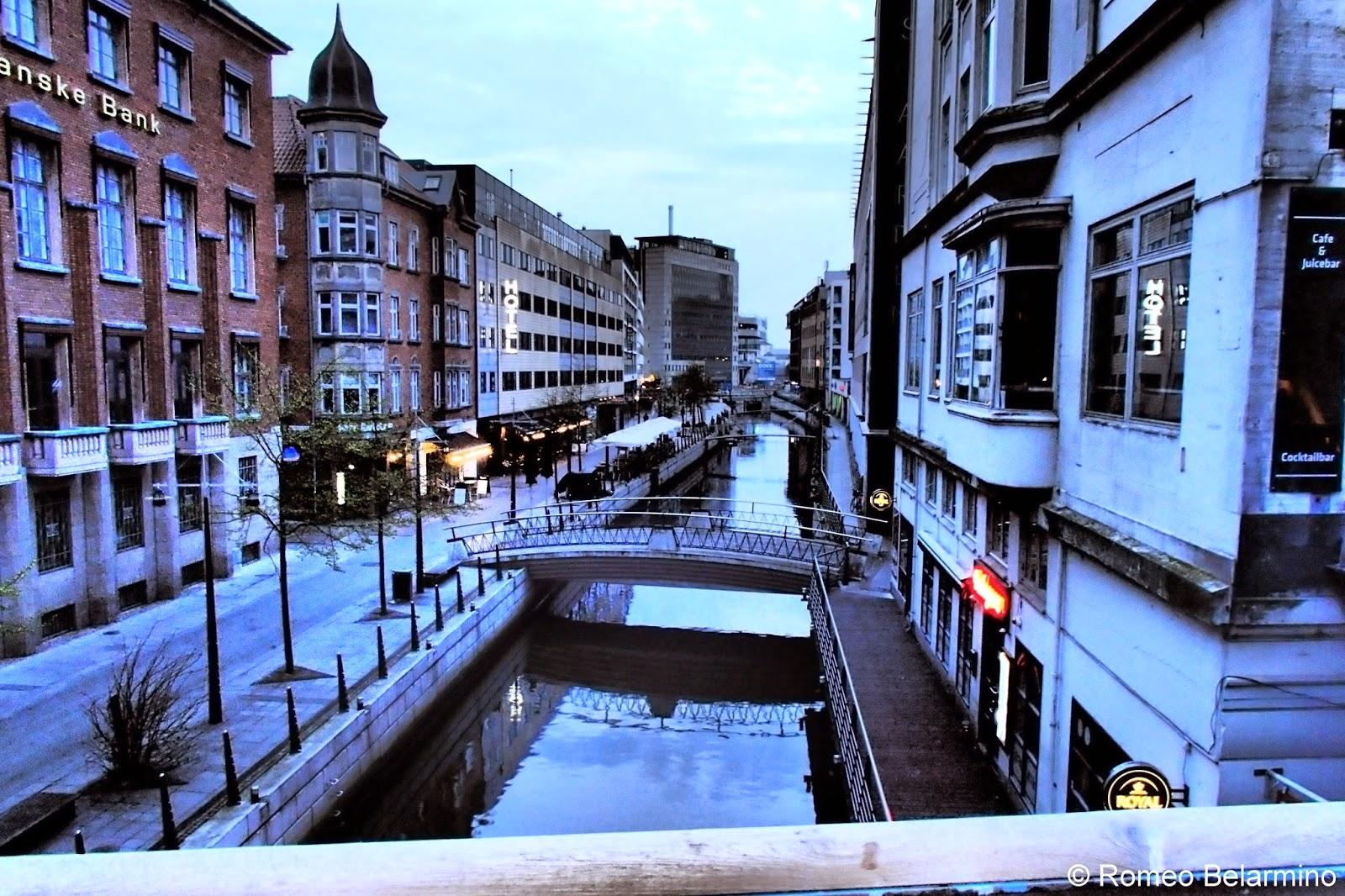 Aarhus Denmark  City pictures : Aarhus Canal Denmark