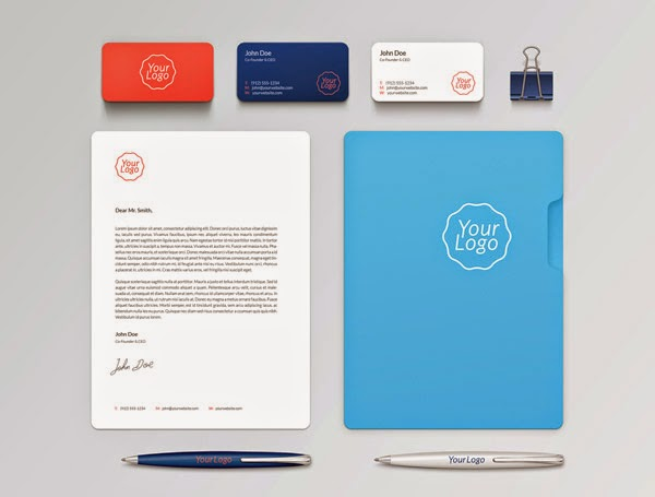 Download Branding Stationery Mockup Gratis - BRANDING / IDENTITY MOCKUP VOL 1