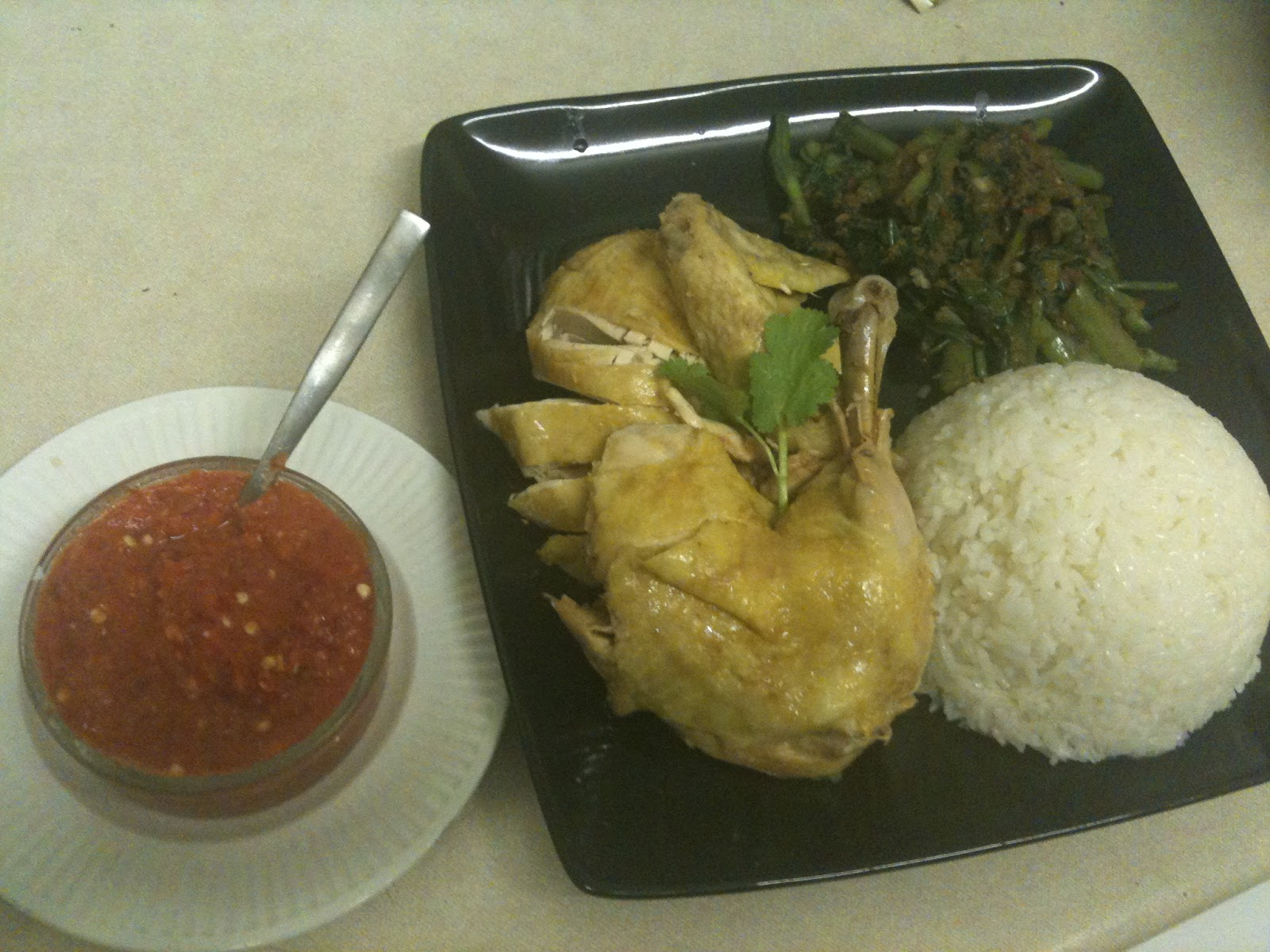 FEAST to the world: Singapore Hainanese Chicken Rice