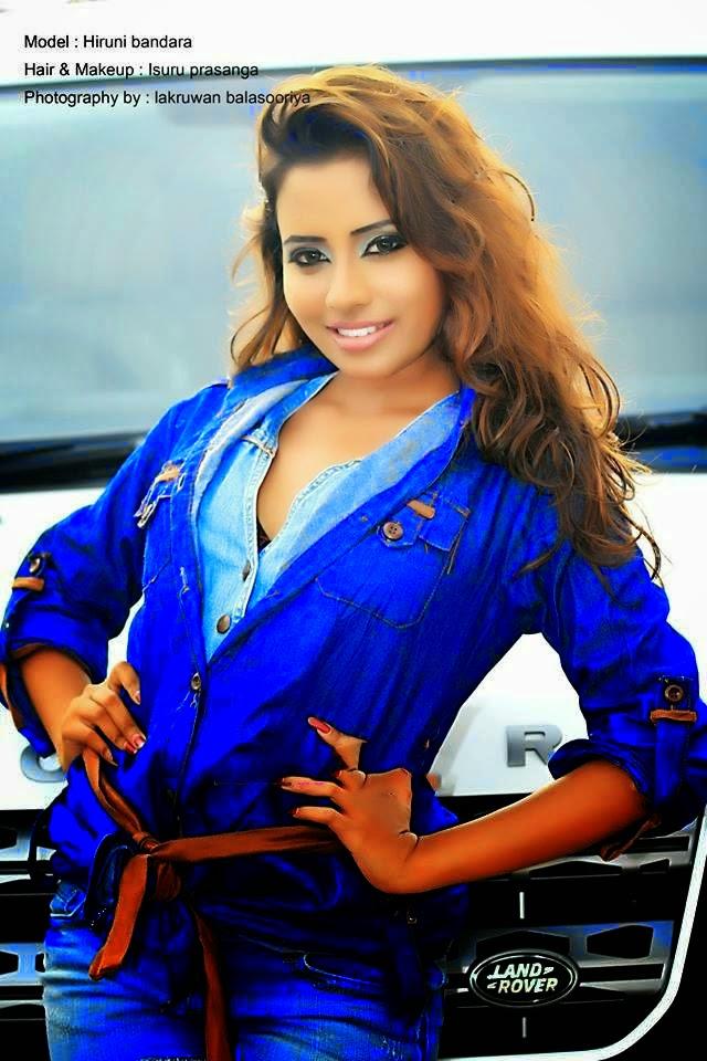 Models Bank : Hiruni Bandara New Photos