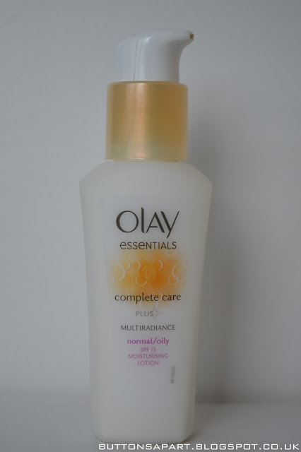 a picture of olay essentials complete care multi radiance moisturising lotion