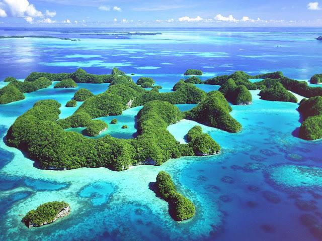 Ilha paradisiaca