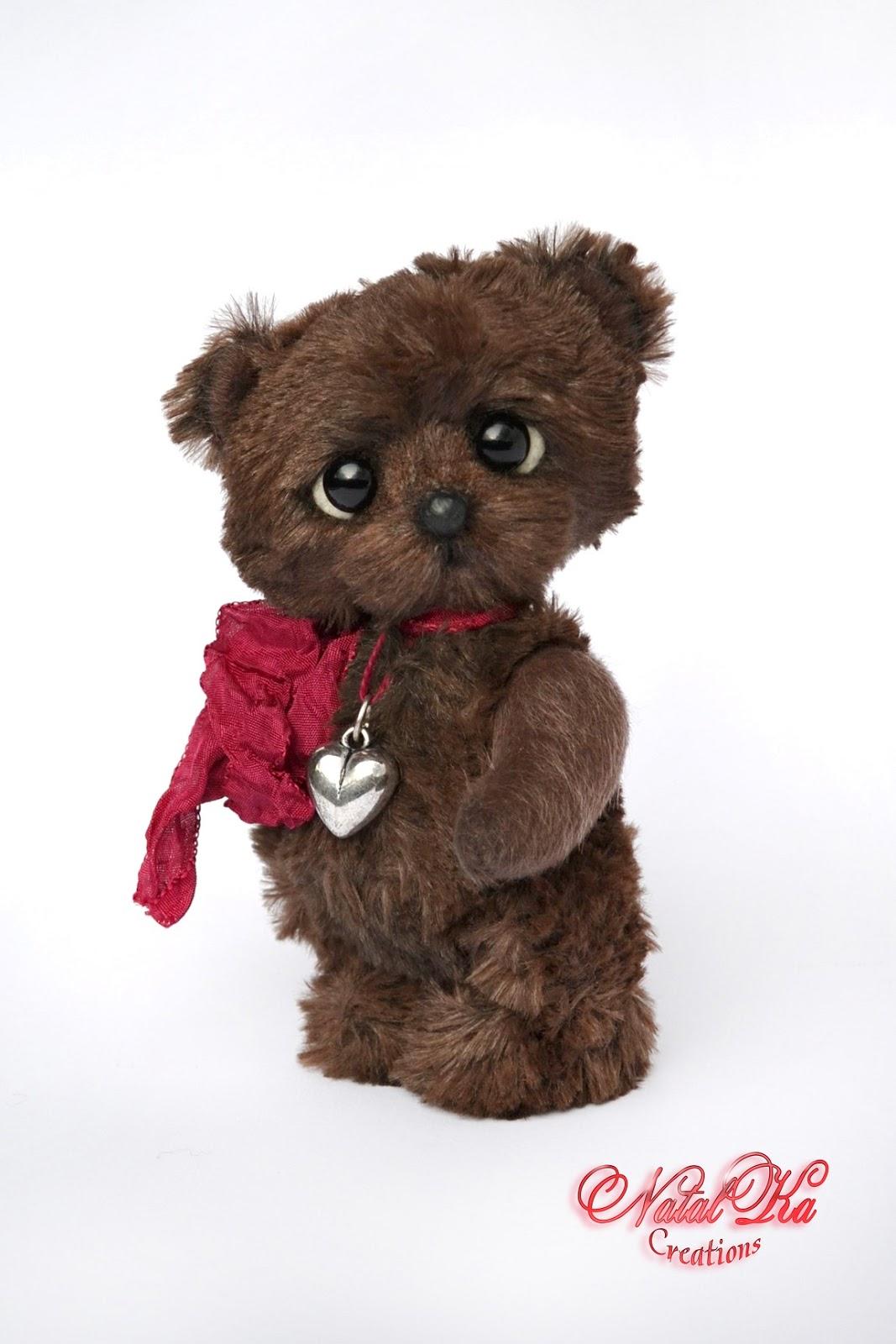 Artist teddy bear, teddies, artist bear, teddy, ooak, handmade by NatalKa Creations. Künstlerbär, Teddybär, Teddy, Künstlerteddy, Unikat, handgemacht von NatalKa Creations.