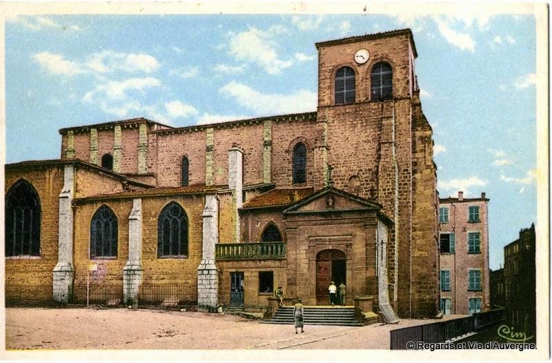 Thiers, Eglise saint-Genès.