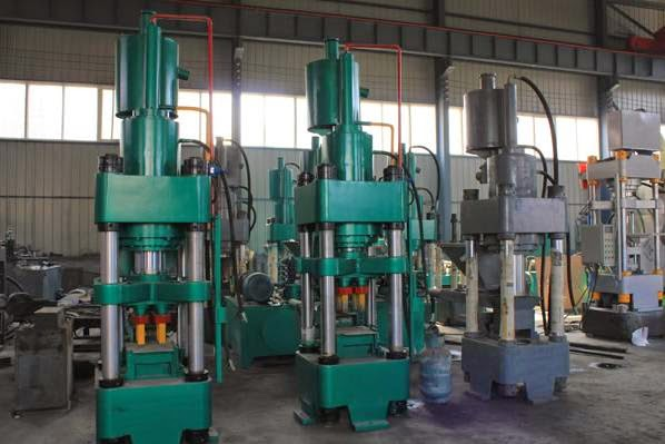 hydraulic sponge iron briquette machine