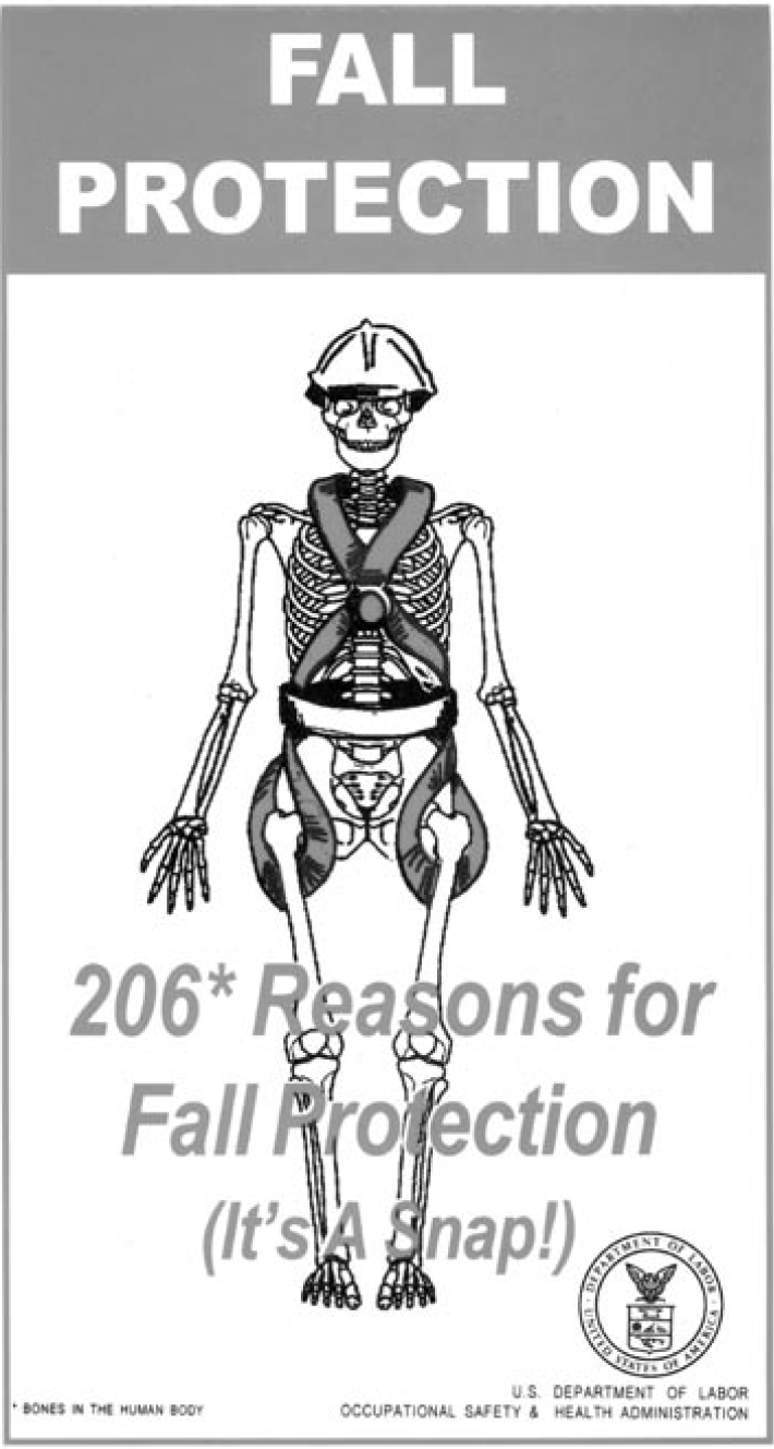 206 Reasons to wear your fall protection gear