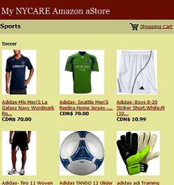 My NYCARE.com Amazon aStore
