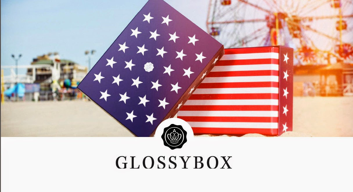 Glossy Box Stars & Stripes July Box
