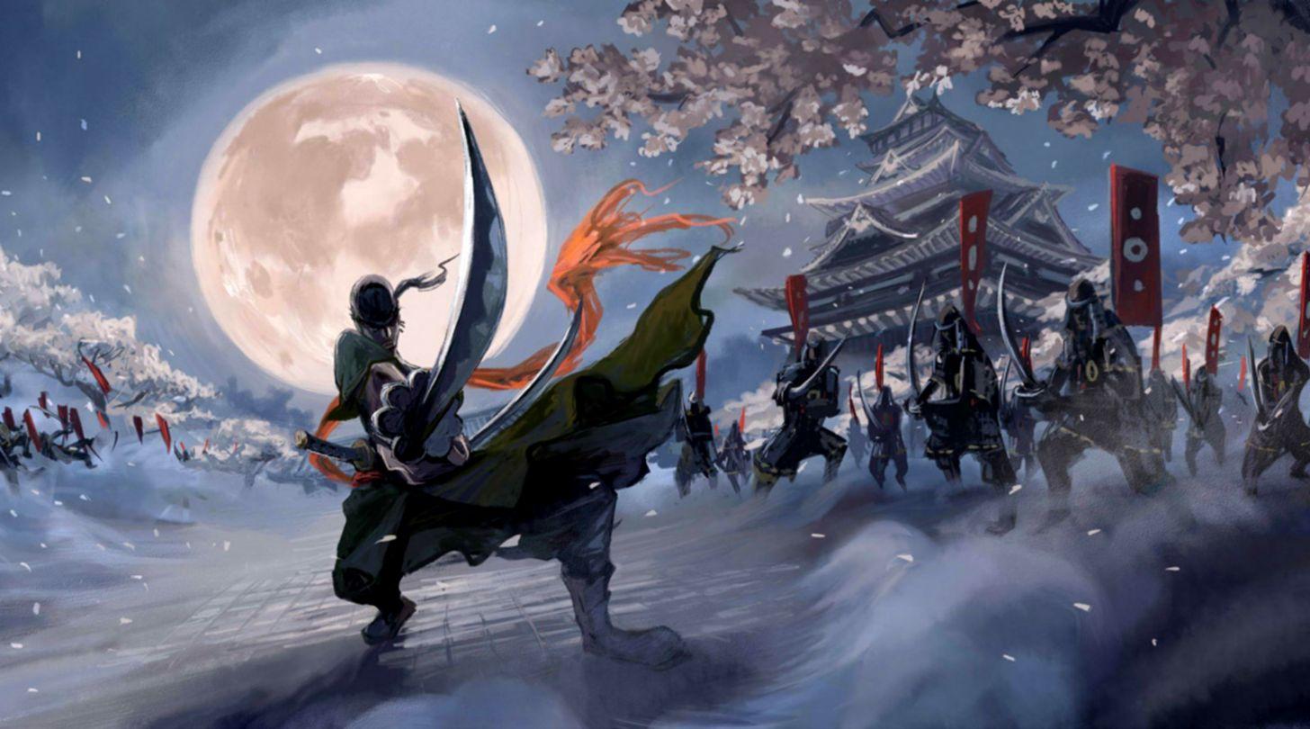 Roronoa Zoro And Sword Wallpaper
