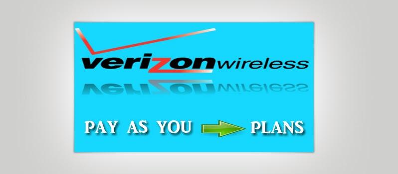 Verizon pay as you go plans