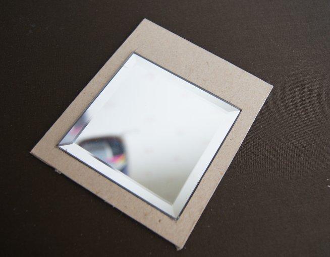 Nono mini nostalgie tutorial un miroir romantique for Miroir adhesif a decouper