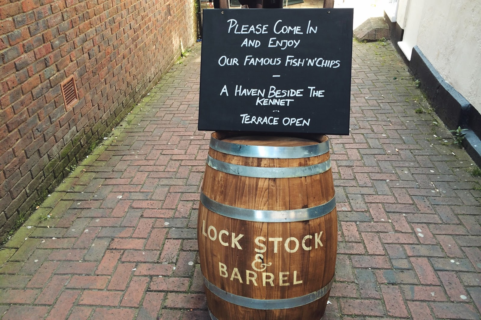 Lock Stock and Barrel Newbury review, UK food blog
