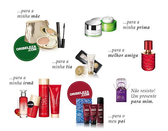 As sugestões Oriflame de Rita Pereira para este Natal
