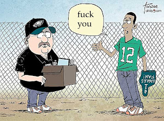 R rated cartoon, fan says good-bye to Andy Reid