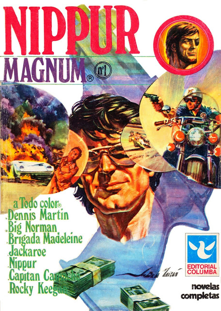 NIPPUR MAGNUM  Ed. Columba. Aporte de ÓscarSNM
