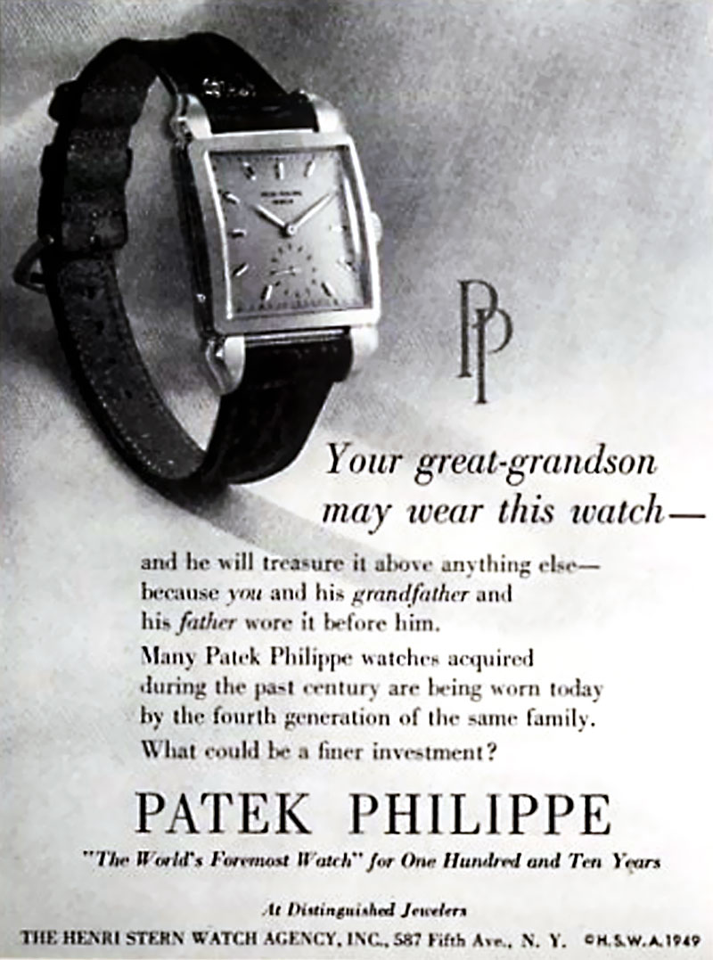 Advertising For Watch