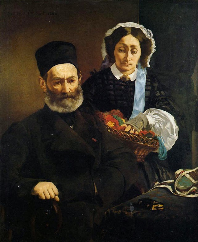 Édouard Manet, Retrato de los padres del artista, Auguste y Eugénie Manet (1860), Museo d'Orsay, París