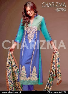 Elegant Winter Collection Contrast of Blue