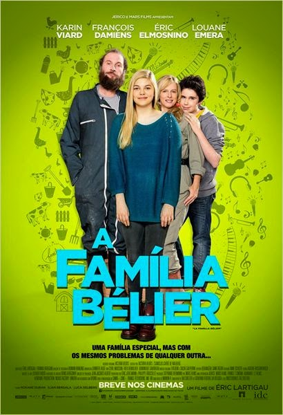 "Poster do filme ""A Família Bélier"""