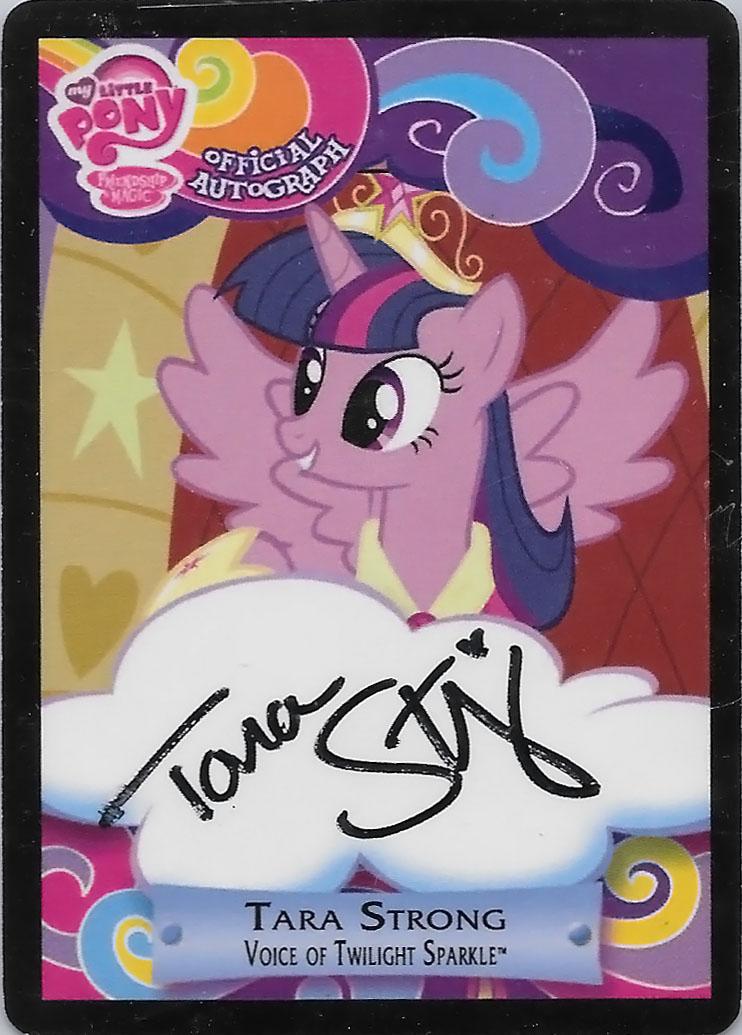 Mlp Tara Strong Princess Twilight Sparkle Trading Cards
