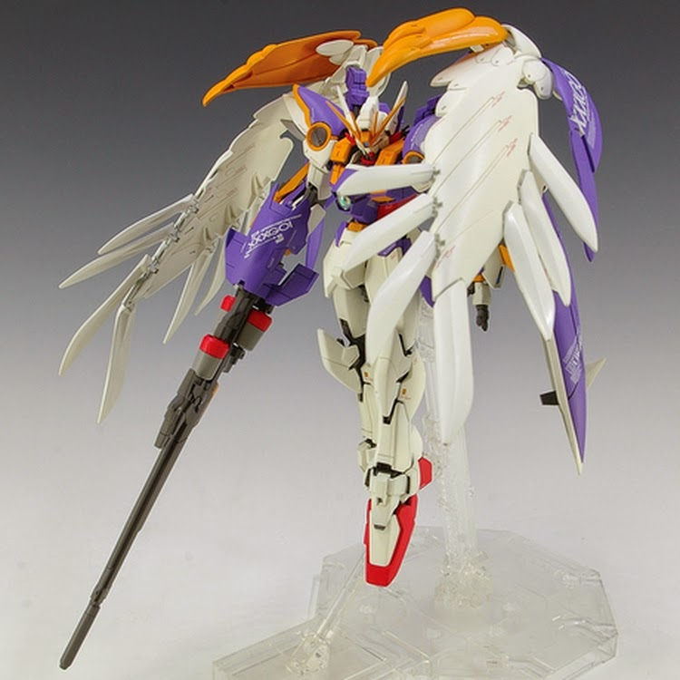 Custom Build Mg 1 100 Wing Gundam Zero Custom Ver Ka Colors Gundam Kits Collection News And Reviews