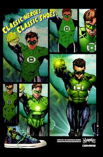 Green Lantern Converse ad