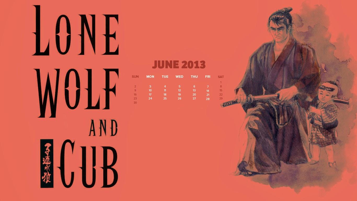 Hình nền Sói mang con - Lone Wolf and Cub