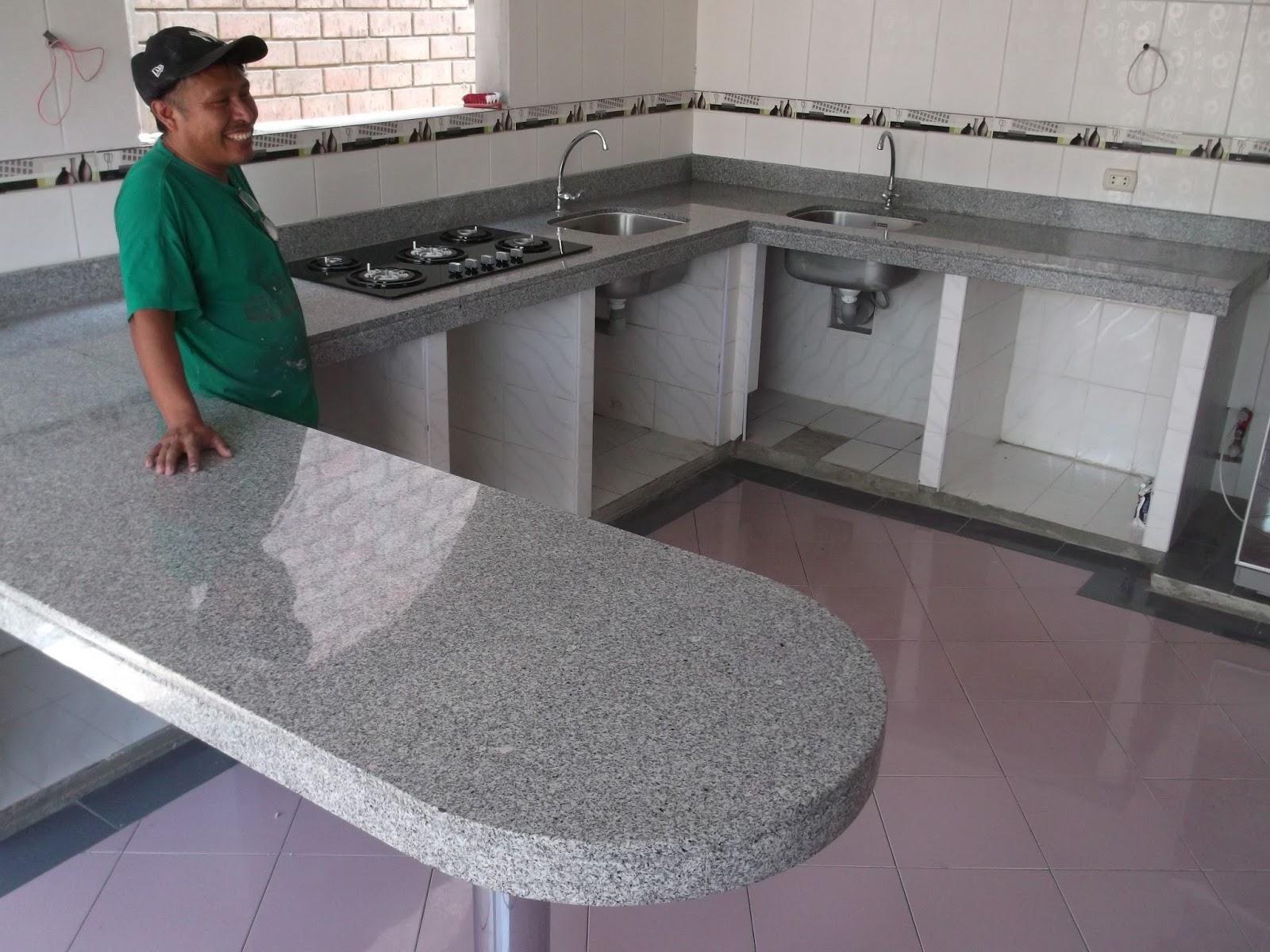 Piedra de marmol para cocina materiales de construcci n for Materiales para mesones de cocina