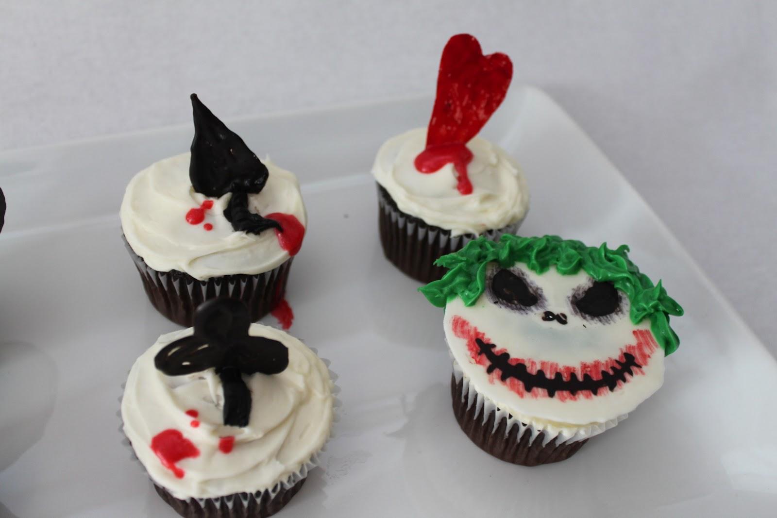 Batman Joker Cake