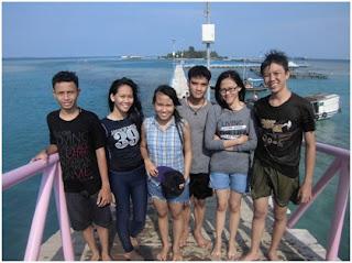 Encek Irit di Pulau Tidung