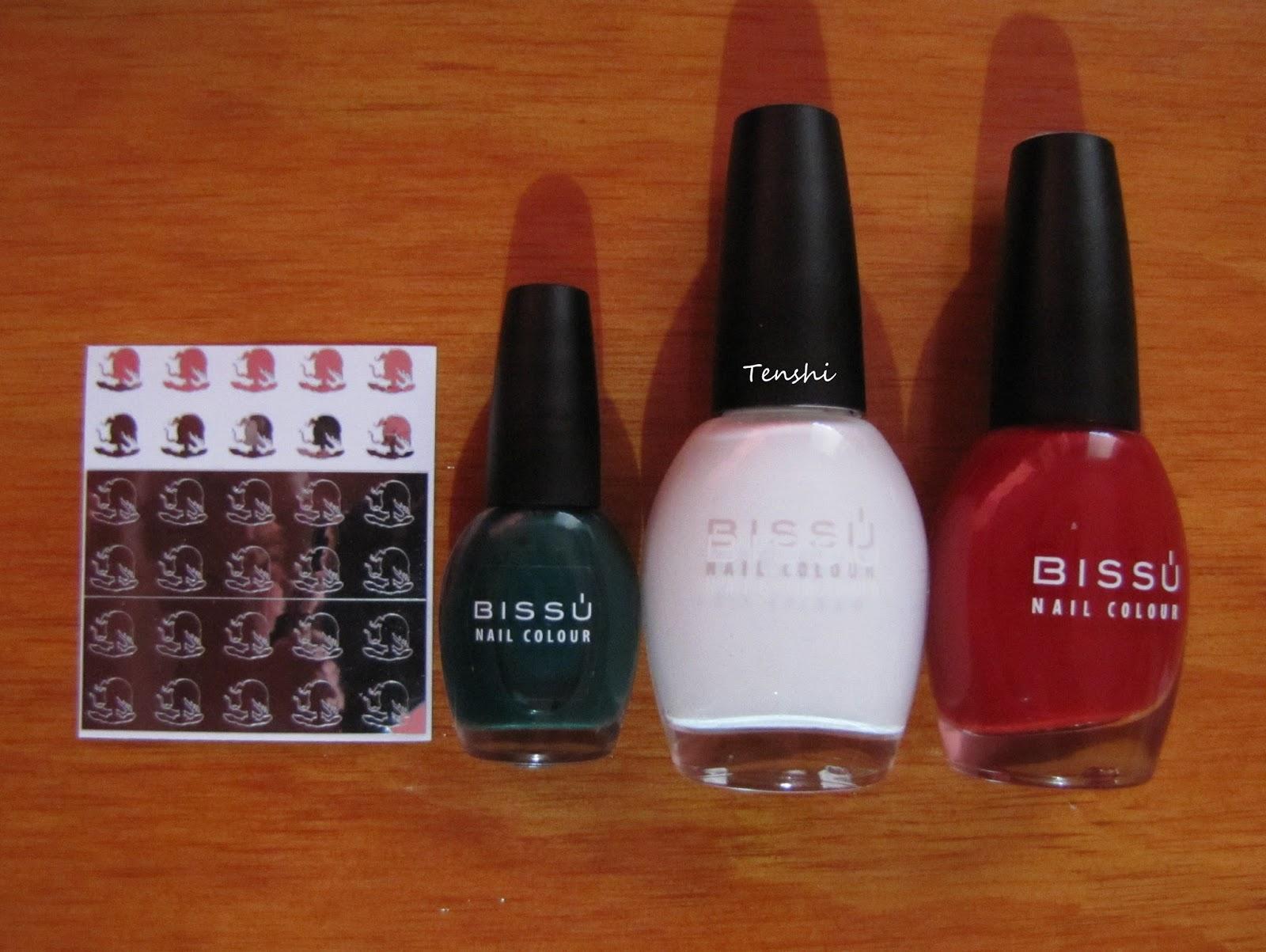 Nails by Tenshi: 31 días de uñas: Día 28, inspirado en una bandera