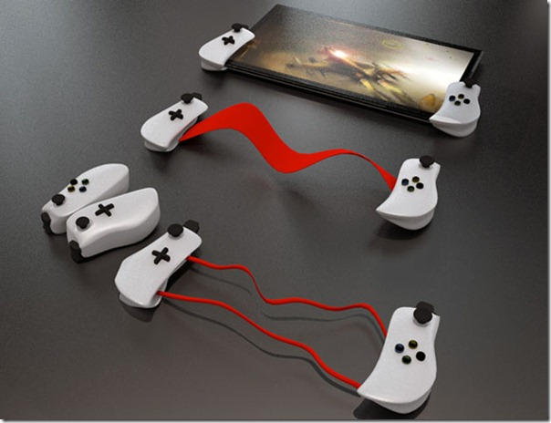 Interactive Controller for Tablets