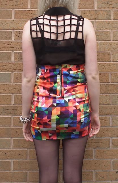 Sammi Jackson - Squares / Motel Rocks Skirt