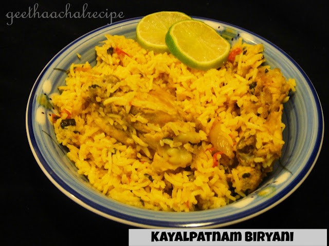 Kayalpattinam Biryani