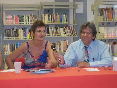 Presentación de los libros en Ciudad Juárez, México