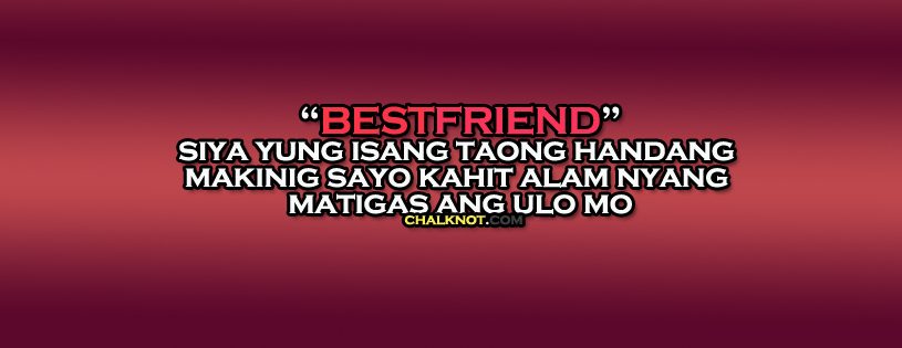 Simple Quotes About Friendship Tagalog : Tagalog friendship quotes