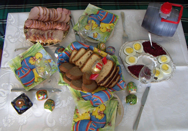 Easter Brunch, Western Ukraine