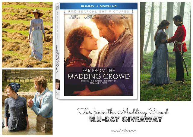 Far from the Madding Crowd Bluray Giveaway from Fox Home Entertainment Insider