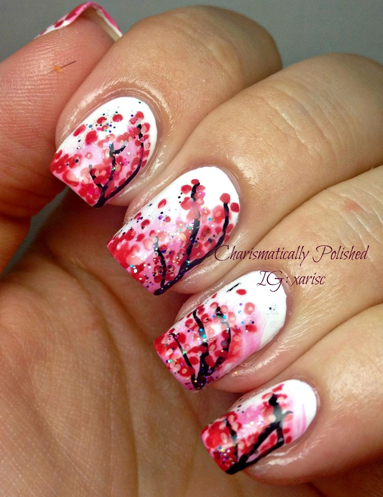 Charismatically Polished: Cherry Blossoms, take two!