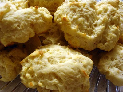 Olive Oil Parmesan Biscuits