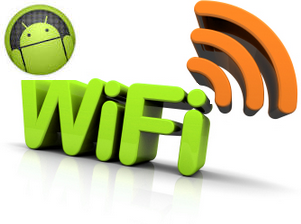 Tampilan Icon Wifi di Status Bar Android