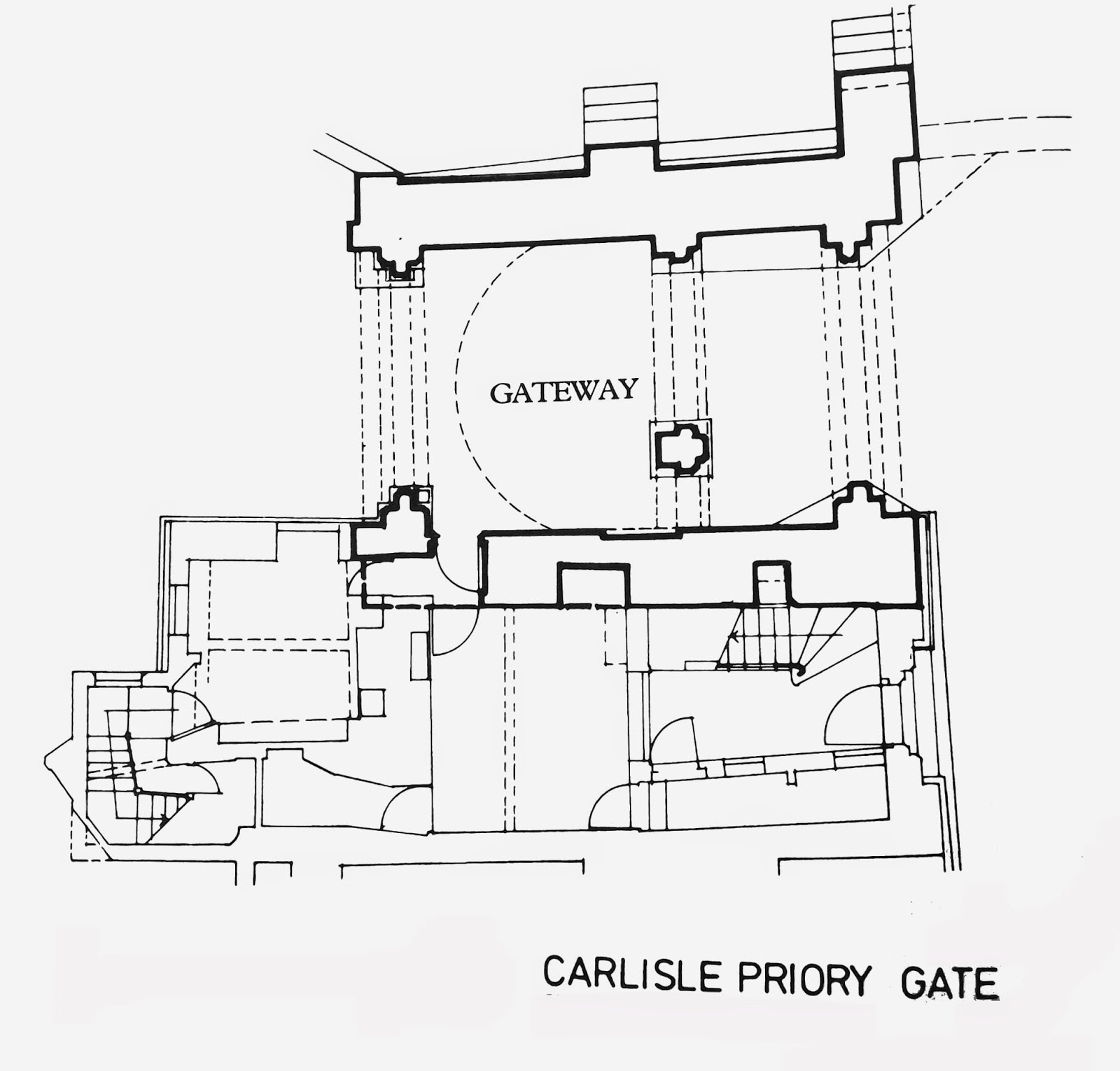 The castles, towers and fortified buildings of Cumbria: Carlisle ...