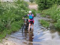 En bici y sin remos..