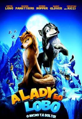 Filme Poster A Lady e o Lobo DVDRip XviD Dual Audio & RMVB Dublado