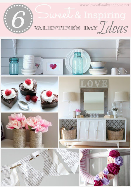 6 Sweet & Inspiring Valentine's Day Ideas