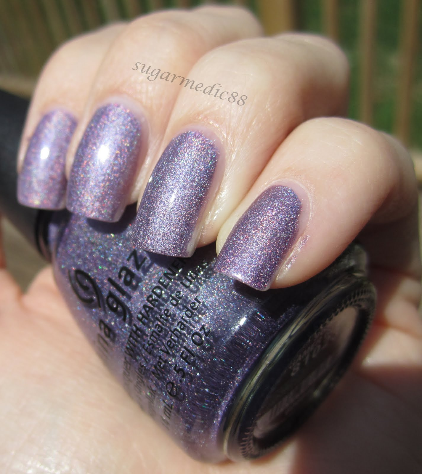 The Polished Medic: China Glaze Gamer Glam and stupid USPS