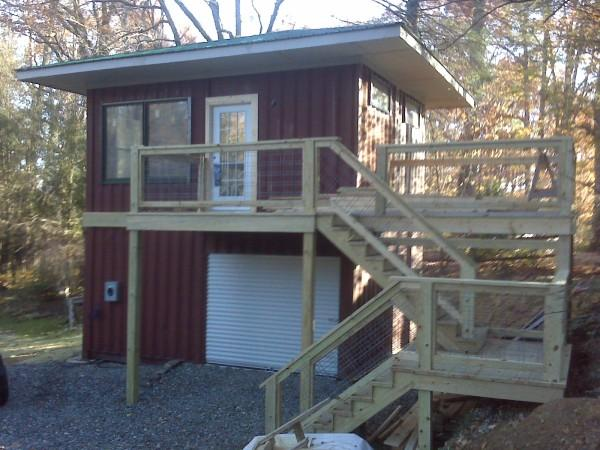 Shipping container homes high country green boxes for 3 40 ft container home