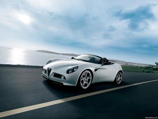 Alfa Romeo 8C Spider 2009