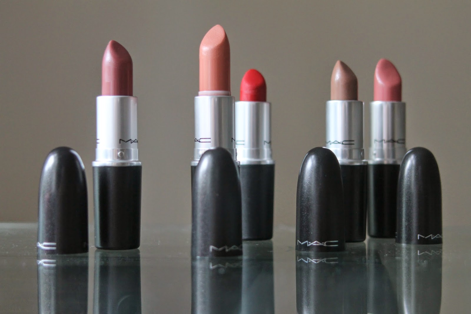 MY TOP FIVE MAC LIPSTICKS
